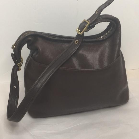 Coach Handbags - Vintage Coach Legacy Hobo Bag in rich Brown